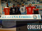 i love Giana Lega Pro Cogeser Energia nuovo sponsor Giana