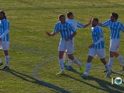 Esultanza al goal di Pena Lumezzane Giana Lega Pro