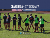 Classifica 27 giornata sudtirol Giana 0-1 lega pro girone a www.ilovegiana.it
