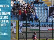 www.ilovegiana.it Ultras proteste Giana Albinoleffe