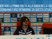 Raul Bertarelli prima volta in stagione alla guida tecnica dei Biancazzurri - www.ilovegiana.it