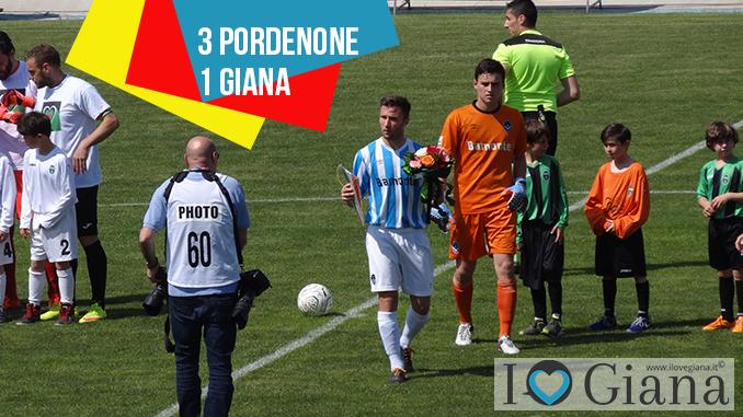 www.ilovegiana.it Pordenone Giana 3-1 lega pro girone a