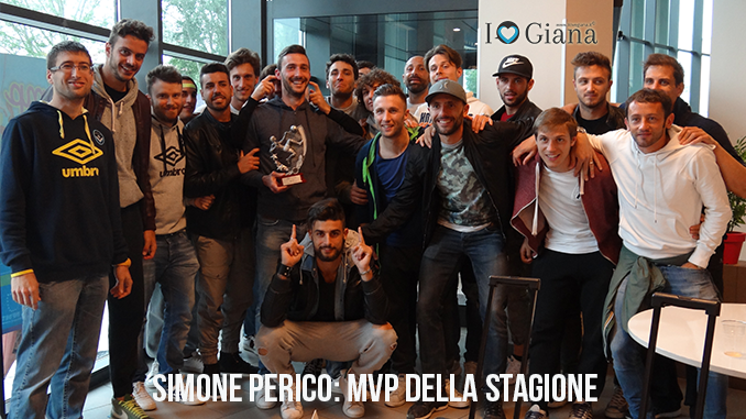giana erminio lega pro Simone Perico MVP stagionale www.ilovegiana.it