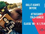 Okyere Asante Gullit attaccante Grumellese Giana Erminio lega pro calcio www.ilovegiana.it