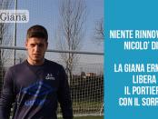 Nicolò Dini portiere giana erminio lega pro www.ilovegiana.it
