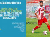 Riccardo Chiarello centrocampista Giana Gorgonzola www.ilovegiana.it