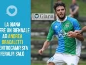 Andrea Bracaletti Feralpi Salò Giana Erminio www.ilovegiana.it. lega pro girone A