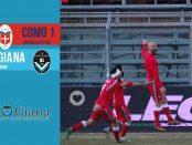 Editoriale 22 giornata lega pro girone a Como Giana 1-1
