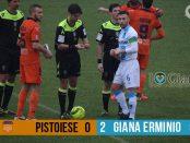 Risultato 24 giornata lega pro www.ilovegiana.it Pistoiese Giana 0-2