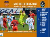 le pagelle 24 giornata Pistoiese Giana 0-2