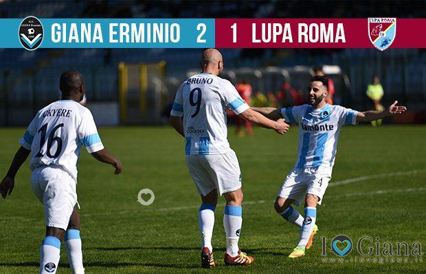 Editoriale 29 giornata lega pro Giana Lupa Roma 2-1