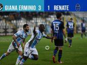 Editoriale 31 giornata lega pro Giana Renate 3-1