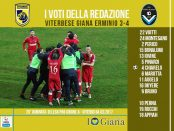 le pagelle 28 giornata Viterbese Giana 3-4