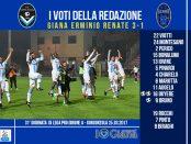 le pagelle 31 giornata Giana Renate 3-1