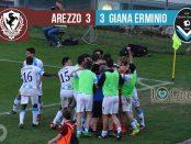 Risultato 34 Arezzo Giana Erminio 3-3