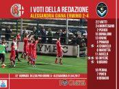 le pagelle 32 giornata Alessandria Giana 2-4