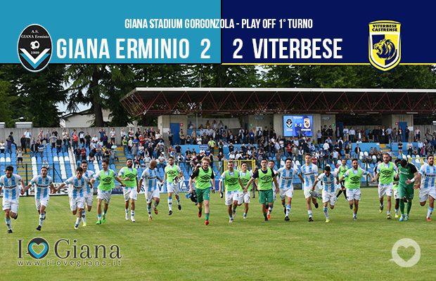 play off lega pro Giana Erminio Viterbese 2-2