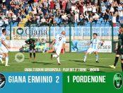 Editoriale 40 play off lega pro 2° turno Giana Erminio Pordenone 2-1