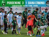 Editoriale 41 play off lega pro 2° turno ritorno Pordenone-Giana 3-1