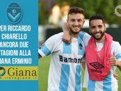 Riccardo Chiarello Giana erminio Rinnovo contratto
