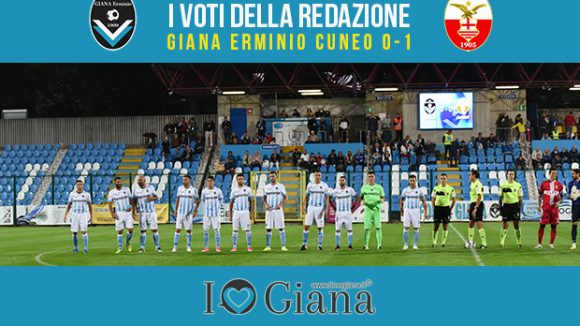 4 giornata serie c Pagelle Giana Cuneo 0-1