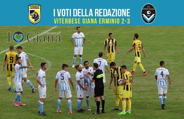 Serie c girone a 5 giornata Pagelle Viterbese Giana 2-3