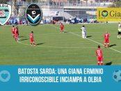 Olbia Giana Erminio 3-0 calcio serie c girone a