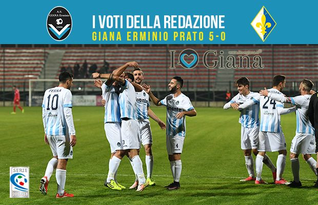 15 giornata Pagelle Giana Erminio Prato 5-0