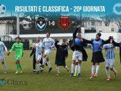 20 giornata Ris e Class Giana Pro Piacenza 1-0