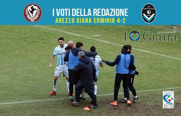 21 giornata Pagelle Arezzo Giana Erminio 4-2