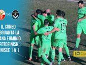 23 giornata Cuneo Giana 1-1