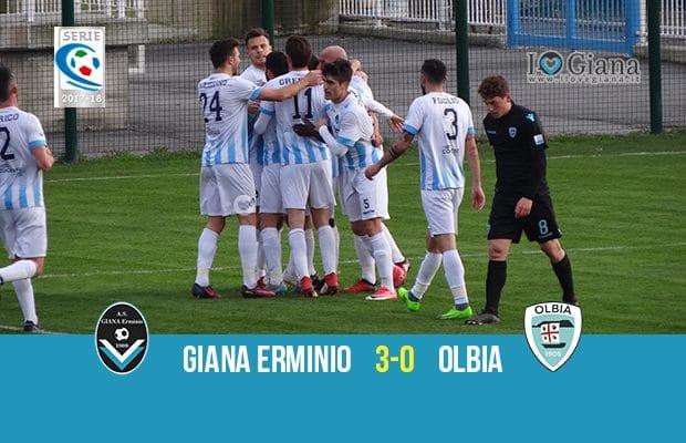 31 giornata serie C girone A Giana Erminio Olbia 3-0