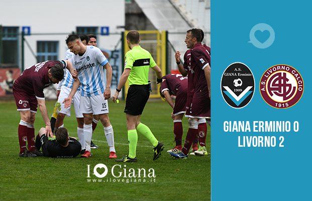 Giana Erminio Livorno 0-2