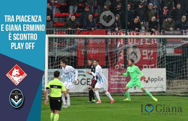 Piacenza e Giana Erminio è scontro play off