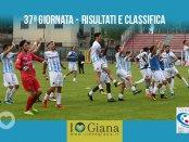 37 giornata Serie C Risultati e Class Giana Gavorrano 4-3