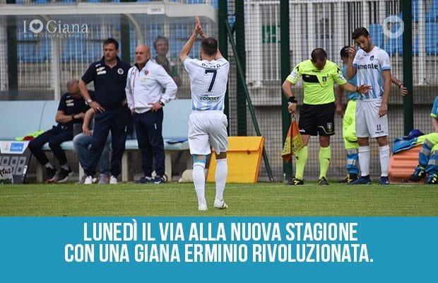 nuova stagione Giana Erminio