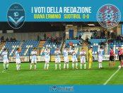 11 giornata Pagelle Giana Sudtirol 0-0