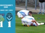 Gubbio Giana Erminio 1-1 serie C girone B