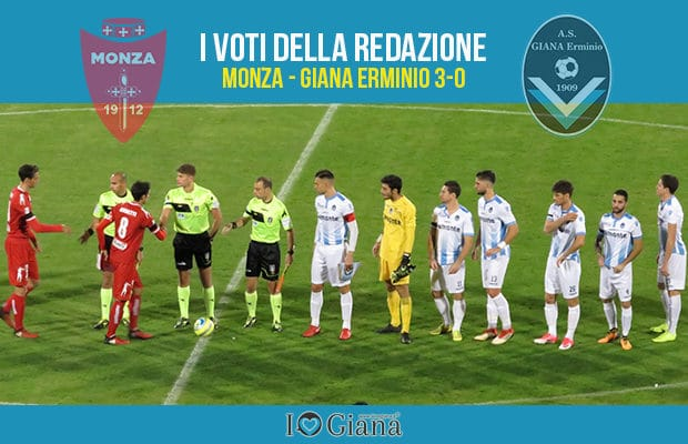 15 giornata Pagelle Monza Giana 3-0
