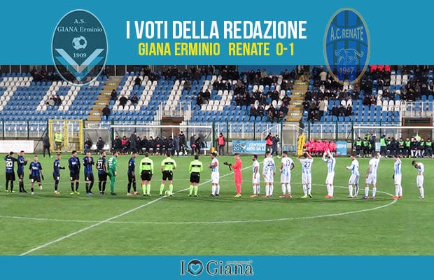 16 giornata Pagelle Giana Renate 0-1