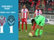 19 Pesaro Giana Erminio 1-1 serie C girone B