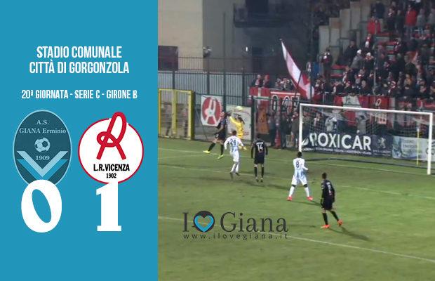 20 Giana Erminio LR Vicenza 0-1 serie C girone B