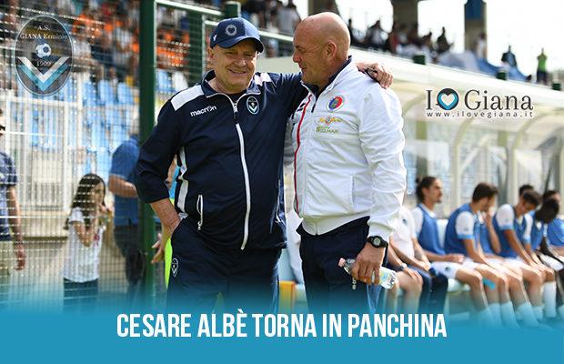 Cesare Albè torna in panchina