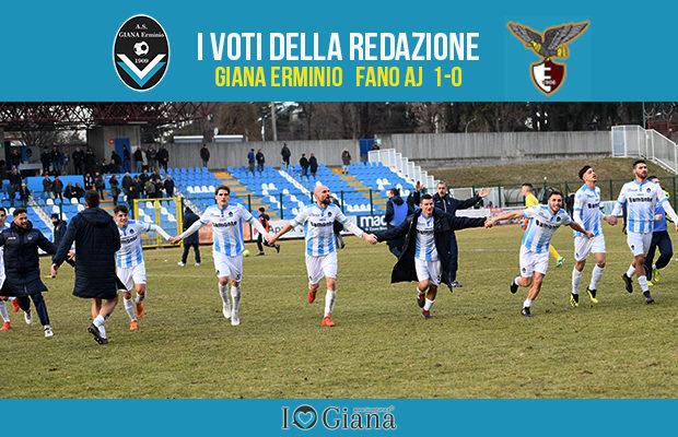 serie c 25 giornata Pagelle Giana Fano 1-0