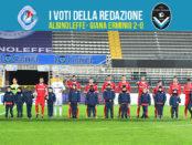 28 giornata Pagelle Albinoleffe Giana 2-0