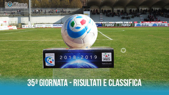 Renate Giana Erminio risultati e classifica 35 giornata serie C girone B
