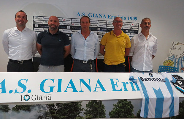 Giana Erminio staff tecnico stagione 2019_2020