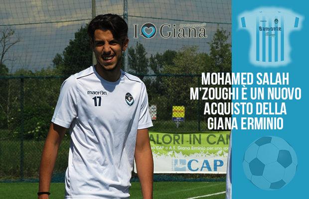 Mohamed Salah M'Zoughi nuovo acquisto Giana Erminio