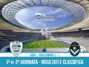 Olbia Giana Erminio 2-1 risultati e classifica 2 giornata serie C girone A