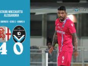 Alessandria Giana Erminio 4-0 serie C girone A